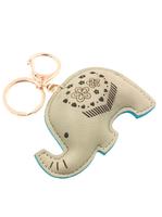 Tufted Elephant Keychain
