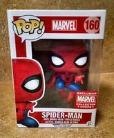 Marvel Collector Corps Exclusive! Funko Pop! Spider-Man #160