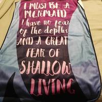 Lit-Cube Exclusive Mermaid Beach Towel