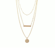 "Margot ""Definitive"" 3 Piece Layered Necklace"
