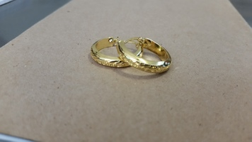 "Lord of the Ring ""One Ring"" Earrings"