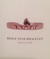 Les Interchangeables Beige Star Bracelet