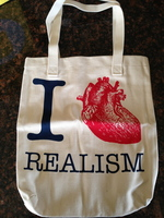 I heart realism tote