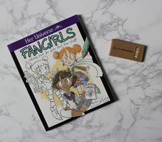 Fangirls coloring book