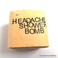JuniperEarth Headache Shower Bomb