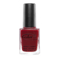 Color Club nail polish in Brrr-Red