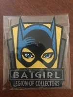 Legion of Collectors Batgirl patch - September 2016