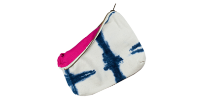 Tribe Alive Hand Dyed Shibori Pouch
