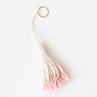 Tassel Bag Charm: by Tribe Alive, Honduras, (Retail $10.)