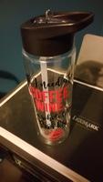 Coffee, wine & books Water Bottle