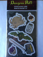 Dungeon Rift Magnets and Downloadable Game