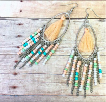 Flitwicks beaded earrings