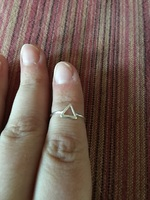 Triangle adjustable ring