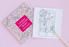 FFF Things Coloring Book