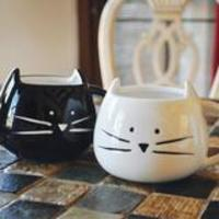 Black Cat Mug by Tickled Teal