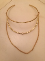 5th Avenue Style Luxe Gold Necklace