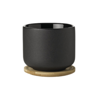 """Stelton """"Theo"""" mug/cup with Bamboo Coasters"""