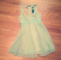 Ark & Co green and blue size small dress