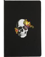 DL & Co Blooming Skull Journal