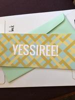 Yessiree! Card