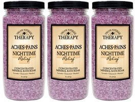 Village Naturals Therapy Aches & Pains Nighttime Relief Concentrated Mineral Bath Soak