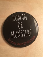 Human or Monster? Button
