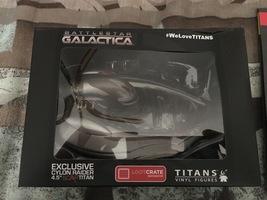 Battlestar Galactica Titan Cyclon Raider Vinyl Replica