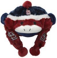 St. Louis Cardinals Sock Monkey Hat