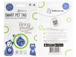 PetHeathlocker Smart Pet Tag Pet ID Small - Blue