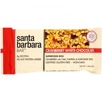 Santa Barbara Bars - Cranberry White Chocolate