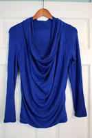 Stitch Fix 41Hawthorn Cobalt Cowl neck top