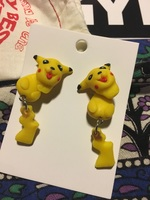 Pikachu Pokemon Earrings