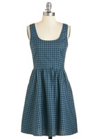 Modcloth Good Enough to Graph Dress