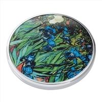 Pocket Mirror - John Beswick Irises