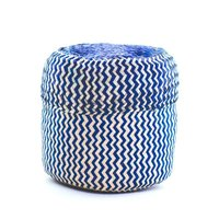 Globein Signature Handwoven Basket - Blue