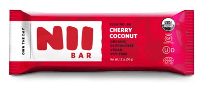 Nii Bar Cherry Coconut