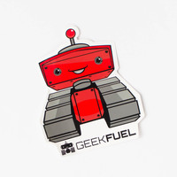 Geek Fuel sticker