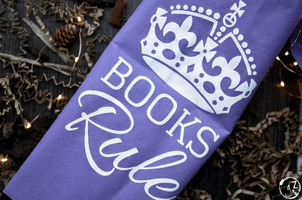 Books Rule Tote Bag