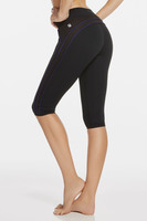 Polar Crop - Black/Vixen, Size Small