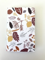 Small Autumn Leaves Notebook
