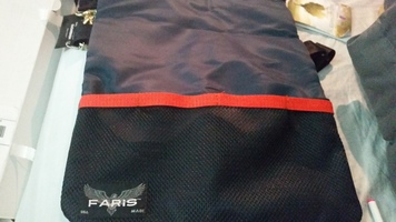 Faris Aviator Flight Nylon Messenger Bag