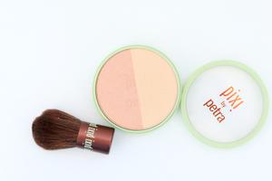 Pixi Beauty Blush Duo and Brush in Peach Honey
