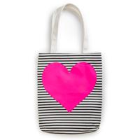 ban.do Canvas Heart Tote Bag