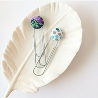 Fabric Button Bookmark from My Heart My Tribe