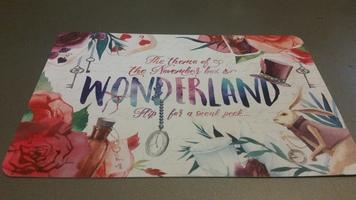 Owlcrate Nov 2016 Wonderland Spoiler Card