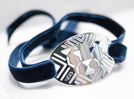 Silver Gianni Bulgari bracelet