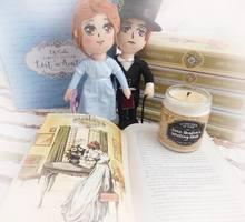Elizabeth Bennet & Mr. Darcy plush dolls