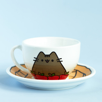 Pusheen Tea Cup Set
