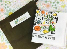 PeopleTowels Fall Hand Towel & Eco Sack
