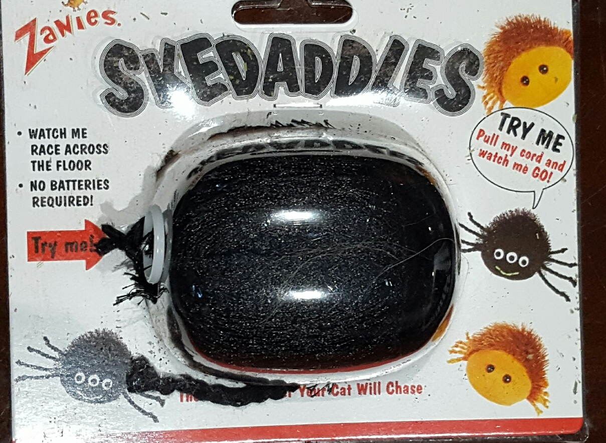 Zanies Skedaddles Spider Cat Toy